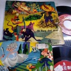 Discos de vinilo: LOTE DE 2 SINGLES ( VINILO) DE CUENTOS INFANTILES. Lote 142405210
