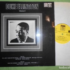 Discos de vinilo: DUKE ELLINGTON. INMORTAL SESSIONS 1974. SAGA.. Lote 142416538