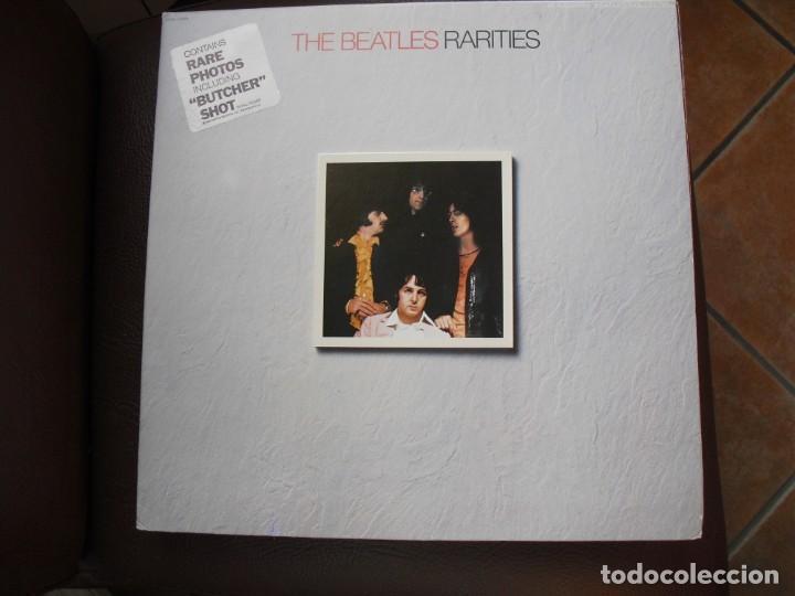 THE BEATLES: RARITIES EDICION U.S.A-INMACULADO-IMPECABLE EDICION CARPETA Y SONIDO-VEALO (Música - Discos - LP Vinilo - Pop - Rock Extranjero de los 50 y 60)
