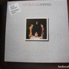 Discos de vinilo: THE BEATLES: RARITIES EDICION U.S.A-INMACULADO-IMPECABLE EDICION CARPETA Y SONIDO-VEALO. Lote 142419046
