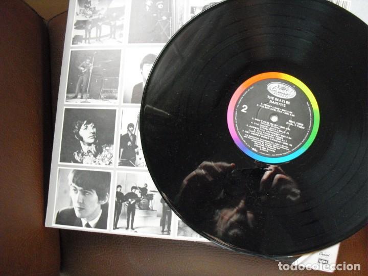 Discos de vinilo: THE BEATLES: RARITIES EDICION U.S.A-INMACULADO-IMPECABLE EDICION CARPETA Y SONIDO-VEALO - Foto 4 - 142419046