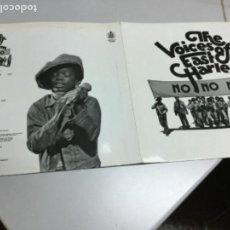 Discos de vinilo: THE VOICES OF EAST HARLEM- NO,NO,NO. Lote 142427118