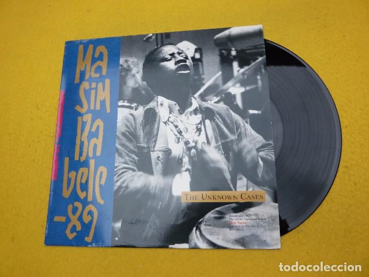 MAXI SINGLE THE UNKNOWN CASES – MASIMBABELE 89 ROUGH TRADE Ç (Música - Discos - Singles Vinilo - Electrónica, Avantgarde y Experimental)