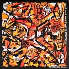 Discos de vinilo: LP TRIANGULO DE AMOR BIZARRO AÑO SANTO VINILO SURFIN BICHOS PARALISIS PERMANENTE. Lote 142456918