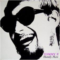 Discos de vinilo: TOMMY P. (EX- ROCKING GHOSTS) – HANDY-MAN - LP DENMARK 1968 - METRONOME MLP 15292. Lote 142461950