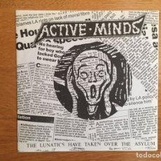 Discos de vinilo: ACTIVE MINDS: THE LUNATICS HAVE TAKEN OVER THE ASYLUM (EP FLEXI). Lote 142505062