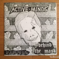 Discos de vinilo: ACTIVE MINDS: BEHIND THE MASK. Lote 142505361