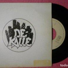 Discos de vinilo: DE KALLE MUEVE LA CABEZA Y LOS PIES 1990 SINGLE SPAIN PRESS (EX-/EX-) T. Lote 142507086