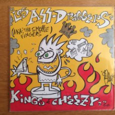 "Discos de vinilo: LOS ASS DRAGGERS: KINGS OF CHEEZY 7"" EP. Lote 142509770"