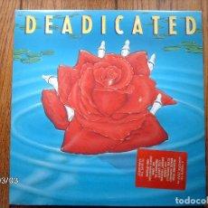 Discos de vinilo: DEADICATED - LOS LOBOS, JANES ADICTION, MIDNIGHT OIL...... Lote 142510278