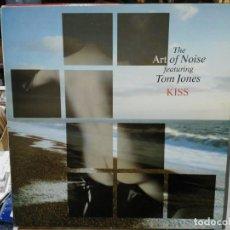 Discos de vinilo: THE ART OF NOISE FEATURING TOM JONES - MAXI SINGLE DEL SELLO POLYDOR 1988. Lote 142511154