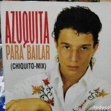 Discos de vinilo: AZUQUITA - PARA BAILAR (CHIQUITO MIX) - MAXI SINGLE DEL SELLO POLYDOR 1993. Lote 142511786
