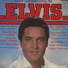 Discos de vinilo: ELVIS PRESLEY – PLEASE DON'T STOP LOVING ME LP ROCK ROCKANDROLL COMPILATION. Lote 142515658