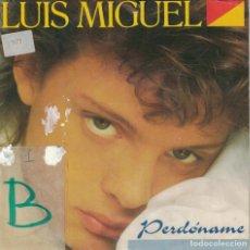 Vinyl-Schallplatten - LUIS MIGUEL - PERDONAME / SOY COMO QUIERO SER (SINGLE PROMO ESPAÑOL, WEA 1987) - 142529042