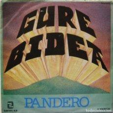Discos de vinilo: GURE BIDEA-PANDERO, ZAFIRO-OOX-420. Lote 142536706