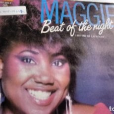 Discos de vinilo: SINGLE (VINILO) DE MAGGIE AÑOS 80. Lote 142540354