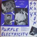 Discos de vinilo: LP - SKY SUNLIGHT SAXON AND PURPLE ELECTRICITY - PRIVATE PARTY (USA, VOXX RECORDS 1986). Lote 142558354