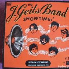 Discos de vinilo: LP - THE J. GEILS BAND - SHOWTIME (USA, EMI RECORDS 1982). Lote 142559162