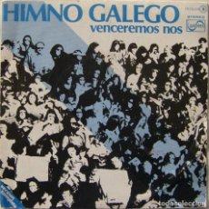 Discos de vinilo: HIMNO GALEGO, ZAFIRO-OOX-314. Lote 142561846