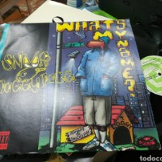 Discos de vinilo: SNOOP DOGGY DOGG MAXI WHAT'S MY NAME? 1993. Lote 142566557