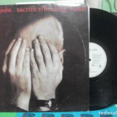 Discos de vinilo: ELTON JOHN / SACRIFICE / HEALING HANDS / MAXI-SINGLE 1990 SPAIN . Lote 142584534