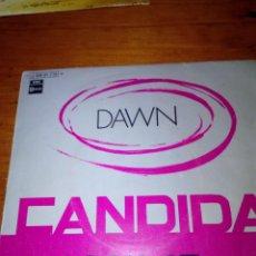 Discos de vinilo: DAWN. CANDIDA. LOOK AT... MB3. Lote 142588190