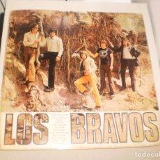 Discos de vinilo: LP LOS BRAVOS. COLUMBIA CÍRCULO DE LECTORES 1970 SPAIN (DISCO PROBADO Y BIEN). Lote 142598018