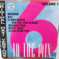 Discos de vinilo: IN THE MIX - NOMAD / KLF / 2 BROTHERS ON THE 4TH FLOOR / BETTY BOO / .... - MAXI SINGLE INDISC 1991. Lote 142601250