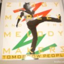 Discos de vinilo: MAXI ZIGGY MARLEY AND THE MELODY MAKERS.TOMORROW PEOPLE. VIRGIN 1988 UK (PROBADO Y BIEN). Lote 142609074