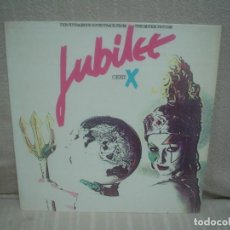 Discos de vinilo: JUBILEE - BSO - CERT. X (ADAM AND THE ANTS, SUZI PINNS, BRIAN ENO...) - POLYDOR 1980 ESPAÑA. Lote 142614378