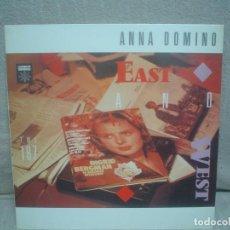 Discos de vinilo: ANNA DOMINO - RYTHM - GRABACIONES ACCIDENTALES 1985 ESPAÑA. Lote 142615438