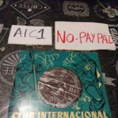 Disques de vinyle: CLUB INTERNACIONAL DEL DISCO VIVALDI CONCIERTO PARA DOS TROMPETAS BERLIOZ CARNAVAL ROMANO. Lote 142621960