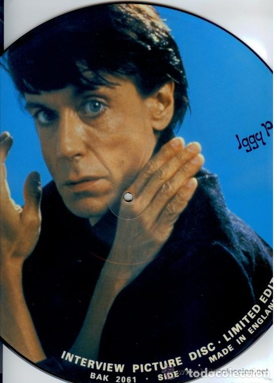 Discos de vinilo: IGGY POP * LP FOTODISCO * PICTURE DISC * INTERVIEW RARO * NUEVO !! - Foto 4 - 29038805