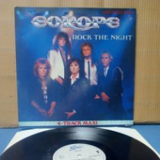 Discos de vinilo: EUROPE - ROCK THE NIGHT 1986 ND. Lote 142638465