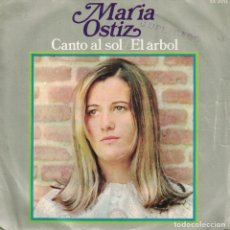 Discos de vinilo: MARIA OSTIZ - CANTO AL SOL / EL ARBOL (SINGLE ESPAÑOL, HISPAVOX 1968). Lote 142651298