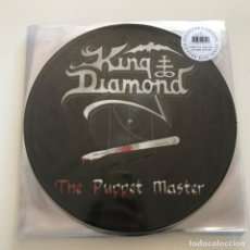 Discos de vinilo: KING DIAMOND - THE PUPPET MASTER (2003) - LP DOBLE PICTURE DISC REEDICIÓN METAL BLADE 2018 NUEVO. Lote 142660554