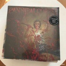 Discos de vinilo: CANNIBAL CORPSE - RED BEFORE BLACK - LP METAL BLADE 2017 NUEVO . Lote 142661666