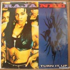 Discos de vinilo: RAJA-NEÉ – TURN IT UP - PERSPECTIVE RECORDS 1995 - MAXI - PLS. Lote 142666998