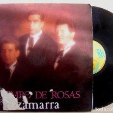 Discos de vinilo: ZAMARRA - TIEMPO DE ROSAS - LP 1990 - EFEN. Lote 142685138
