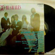 Discos de vinilo: LOS 5 MUSICALES - LOS 5 MUSICALES - LP 1971 - PALOBAL. Lote 142685810
