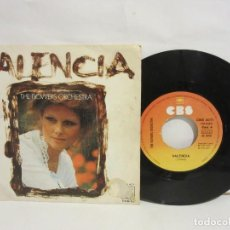 Discos de vinilo: THE FLOWERS ORCHESTRA - VALENCIA / EL RELICARIO - SINGLE - 1976 - SPAIN - VG/VG. Lote 142686542