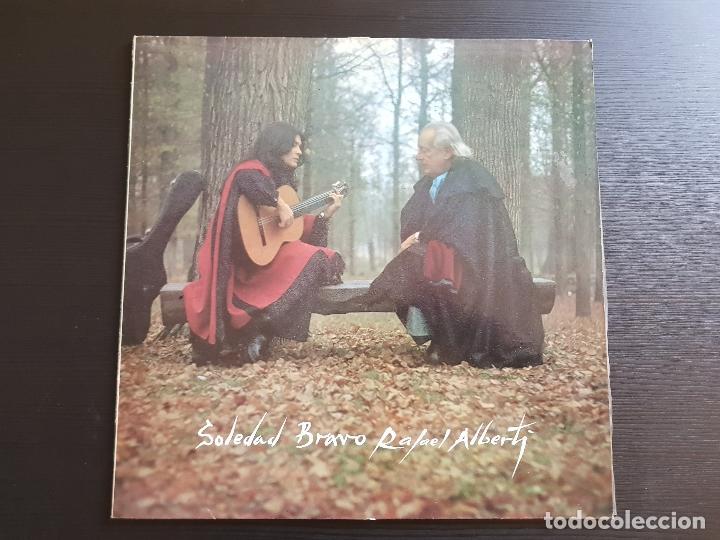 SOLEDAD BRAVO - RAFEL ALBERTI - LP VINILO - CBS -1978 (Música - Discos - LP Vinilo - Solistas Españoles de los 70 a la actualidad)