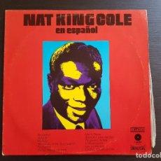 Discos de vinilo: NAT KING COLE - EN ESPAÑOL - LP VINILO - ORLADOR - UNIVERSAL - 1973. Lote 142689350
