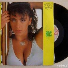 Disques de vinyle: SABRINA - BOYS - MAXI-SINGLE 45 - 1987 - INDALO. Lote 142691970