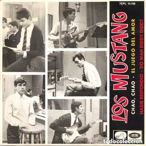 LOS MUSTANG - CHAO, CHAO – EP SPAIN 1965 (Música - Discos de Vinilo - EPs - Grupos Españoles 50 y 60)