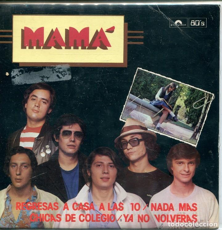 MAMA / REGRESAS A CASA A LAS 10 + 3 (EP 1980) SERIE ESPECIAL NUMERADA Y LIMITADA 0739 (Música - Discos de Vinilo - EPs - Grupos Españoles de los 70 y 80)