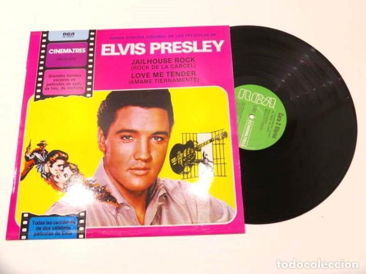 LP ELVIS PRESLEY ORIGINAL SOUNDTRACK JAILHOUSE ROCK 1981 (Música - Discos - LP Vinilo - Rock & Roll)