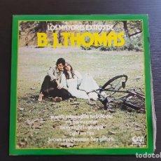 Discos de vinilo: B.J. THOMAS - LOS MAYORES ÉXITOS DE - LP VINILO - GRAMUSIC - 1974. Lote 142695050