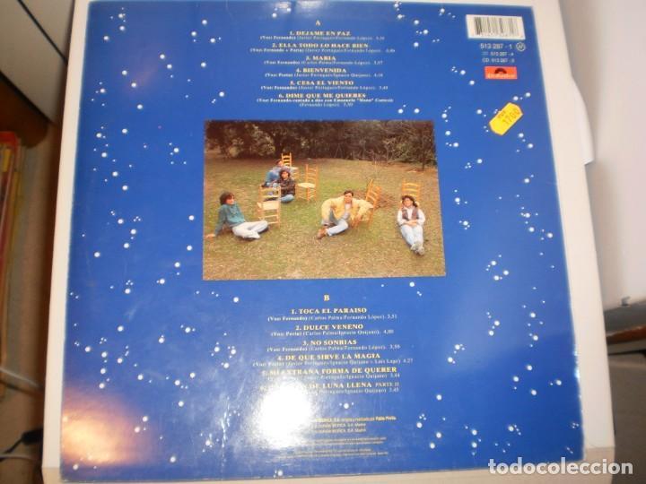 Discos de vinilo: lp modestia aparte. la línea de la vida. polydor 1992 spain con funda con letras (probado y bien) - Foto 2 - 142707510