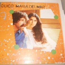 Discos de vinilo: LP QUICO MARIA DEL MAR. ARIOLA 1979 SPAIN CARPETA DOBLE (DISCO PROVAT I EN BON ESTAT). Lote 142710282